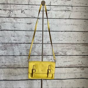 Kate Spade Essex Scout Medium Yellow Leather bag